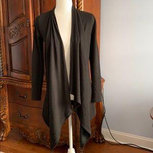 Ralph Lauren black knit coverup- Size XS